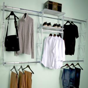 KiO Storage 5-Foot Closet Kit - FROST