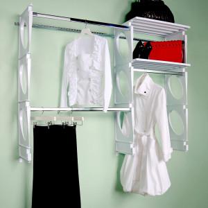 KiO Storage 5-Foot Closet Kit - WHITE