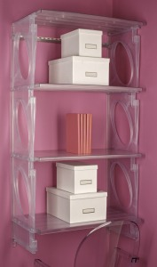KiO Storage 2-Foot Closet Kit - FROST w/extra shelves