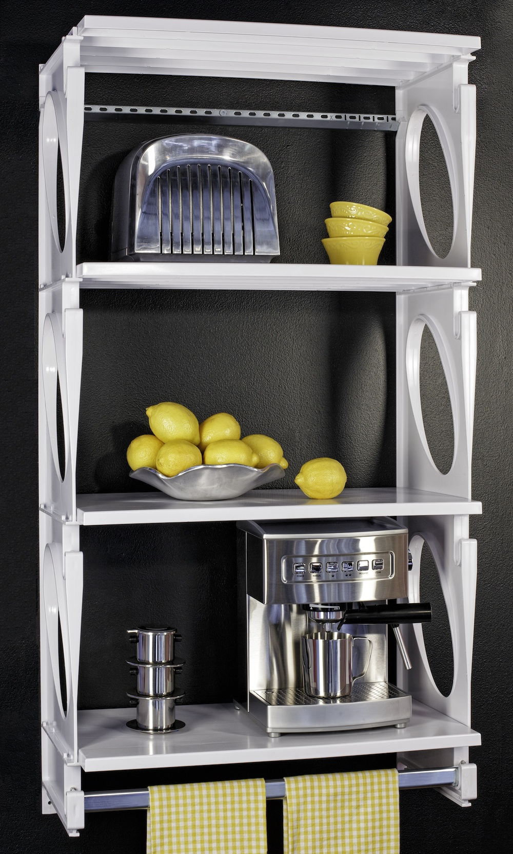 Storage organizers kio extra shelves small closet ideas for Extra closet storage