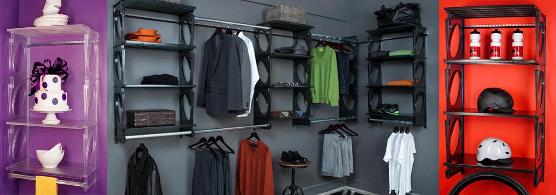 About KiO Closet Organizer Kits