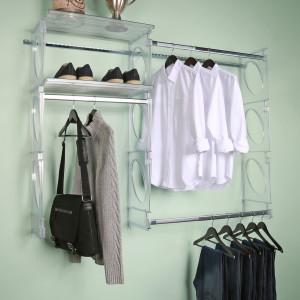 KiO Storage 5' Closet Kit - FROST closeup