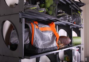 KiO Storage Storage Organizer Kit - BLACK closeup